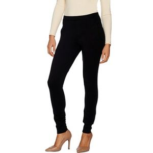 Du Jour Pull On Ponte Knit Leggings With Pockets